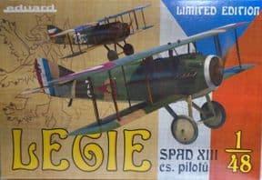 EDK11123 1/48 Spad XIII Legie cs Pilotu Limited Edition