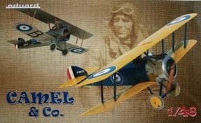 EDK11151 1/48 Camel and Co Sopwith Camel dual combo Ltd Edt