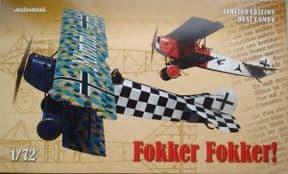 EDK2133 1/72 Fokker D.VII Dual Combo