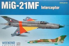 EDK7453 1/72 Mikoyan MiG-21MF Interceptor Weekend