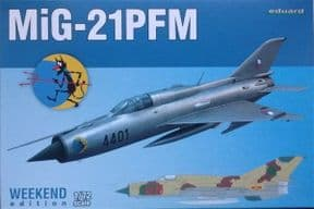 EDK7454 1/72 Mikoyan MiG-21PFM Weekend