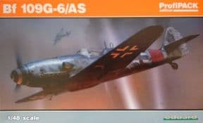 EDK82163 1/48 Messerschmitt Bf109G-6/AS Profipack