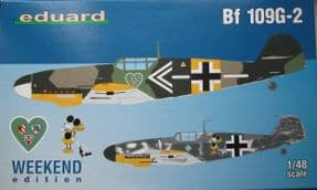 EDK84148 1/48 Messerschmitt Bf109G-2 Weekend