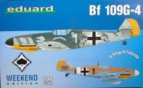 EDK84149 1/48 Messerschmitt Bf109G-4 Weekend