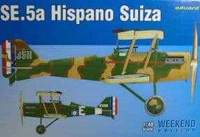 EDK8453 1/48 Royal Aircraft Factory SE.5a (Hispano Suiza) Weekend