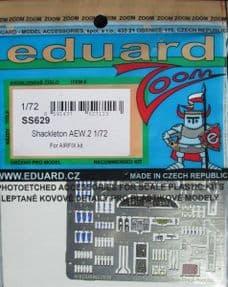 EDSS629 1/72 AVRO Shackleton AEW.2 zoom etch (Airfix)