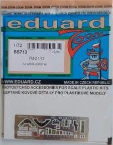 EDSS713 1/72 Grumman FM-2 Wildcat zoom etch (Arma Hobby)