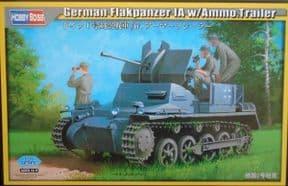 HBB80147 1/35 Flakpanzer 1a with Ammunition Trailer