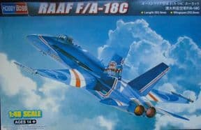 HBB85809 1/48 McDonnell-Douglas F/A-18C Hornet RAAF