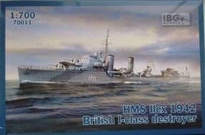IBG70011 1/700 HMS Ilex 1942 British I class destroyer