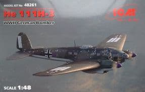 ICM48261 1/48 Heinkel He111H-3 Bomber