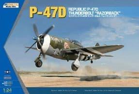 K3208 1/24 Republic P-47D Thunderbolt (Razorback)