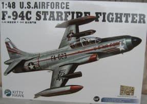 KH80101 1/48 Lockheed F-94C Starfire.