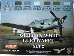 LC-CS07 German WWII Luftwaffe set 2 (22ml x 6)