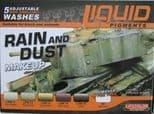 LC-LP03 LifeColor Liquid Pigment Rain and Dust set (22ml x 6)