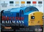LC-XS12 British Railways Set 3- Late Period 1970/1990 (22ml x 6)