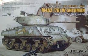 MNGTS-043 1/35 US Medium Tank M4a3 (76) W Sherman