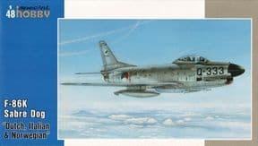 SH48123  1/48 North-American F-86K Sabre Dog 'NATO ALL Weather Fighter'