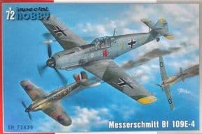 SH72439 1/72 Messerschmitt Bf-109E-4