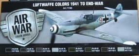 VAL71166 Luftwaffe Colors 1941 to end-war