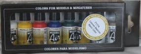 VAL71174 Model Air Set - Basic Colors (x8)