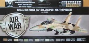 VAL71203 Israeli AF 1967 to Present (x8)