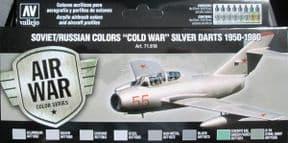 VAL71610 Soviet Silver Darts 1950-1980
