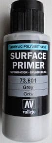 VAL73601 Acrylic Polyurethane Grey Primer 60ml