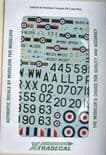 X48124 1/48 de Havilland DH.100 Vampire FB.5 and FB.9 decals (8)