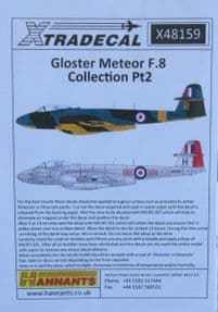 X48159  1/48 Gloster Meteor F.8 Collection Pt 2 decals (7)