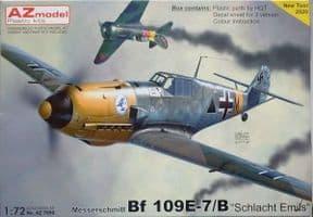 AZM7659 1/72 Messerschmitt Bf-109E-7/B