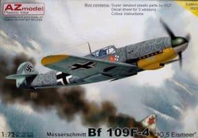 AZM7685 1/72 Messerschmitt Bf-109F-4 JG5 Eismeer
