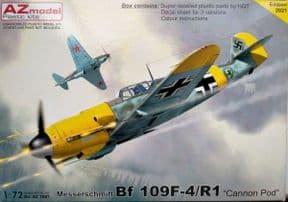 AZM7687 1/72 Messerschmitt Bf-109F-4/R1 Cannon Pod