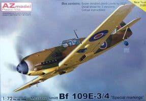 AZM7689 1/72 Messerschmitt Bf-109E 'Special Markings', Pt.II