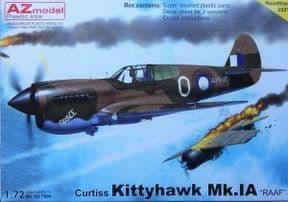 AZM7694 1/72 Curtiss Kittyhawk Mk.IA RAAF