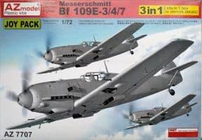 AZM7707 1/72 Messerschmitt Bf-109E-3/E-4/E-7 Joypack