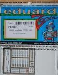 EDFE1067 1/48 Bell UH-1N seatbelts STEEL zoom etch (Kitty Hawk)