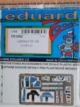 EDFE1092 1/48 BAC/EE Lightning F.2A / F.6 zoom etch (Airfix)