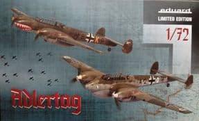 EDK2132 1/72 ADLERTAG Messerschmitt Bf110C/D LTD EDT