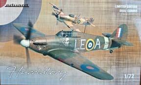 EDK2138 1/72 HURRISTORY: Hurricane Mk.I dual Combo