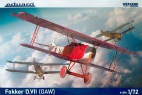 EDK7407 1/72 Fokker D.VII (OAW) Weekend