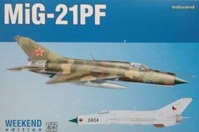 EDK7455 1/72 Mikoyan MiG-21PF Weekend