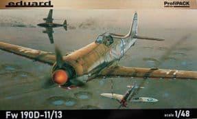 EDK8185 1/48 Focke Wulf FW190D-11/D-13 Profipack