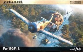 EDK82139 1/48 Focke Wulf Fw190F-8 profipack