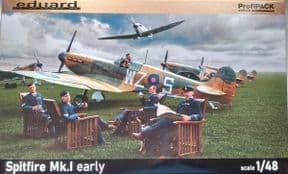 EDK82152 1/48 Supermarine Spitfire Mk.I early Profipack