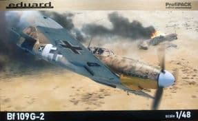 EDK82165 1/48 Messerschmitt Bf109G-2 Profipack