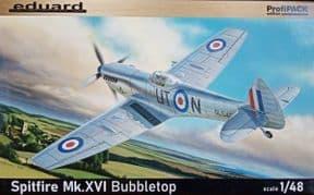 EDK8285 1/48 Supermarine Spitfire Mk.XVI Bubbletop