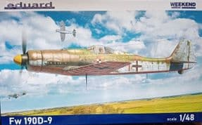 EDK84102 1/48 Focke Wulf FW190D-9  Weekend