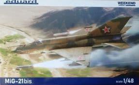 EDK84130 1/48 Mikoyan Gurevich MiG-21BiS Weekend