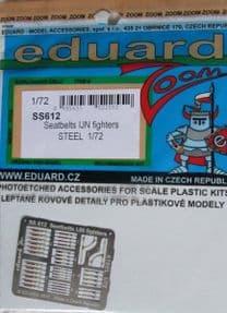 EDSS612 1/72 Seatbelts IJN Fighters Steel